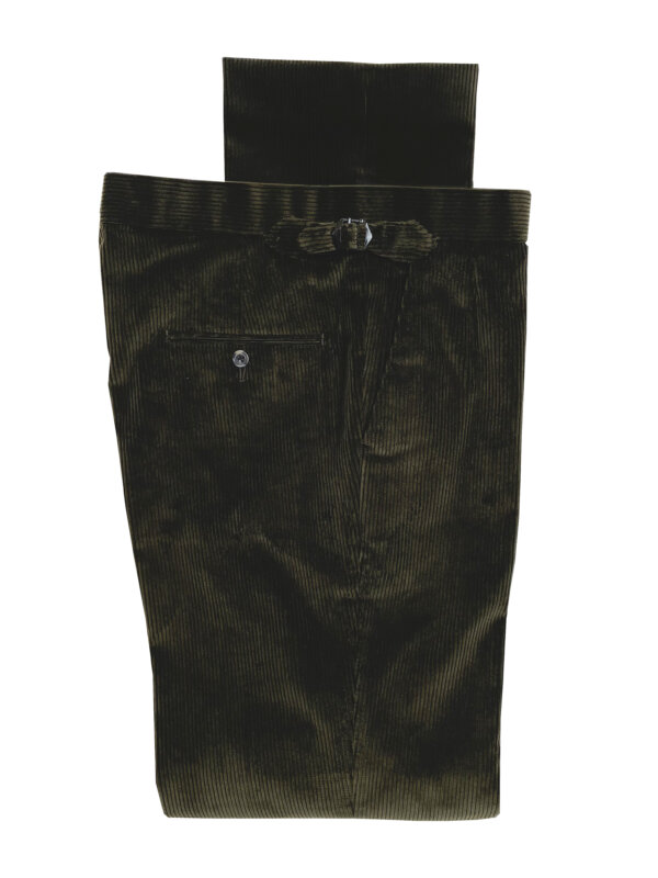 Corduroy Trousers – Olive