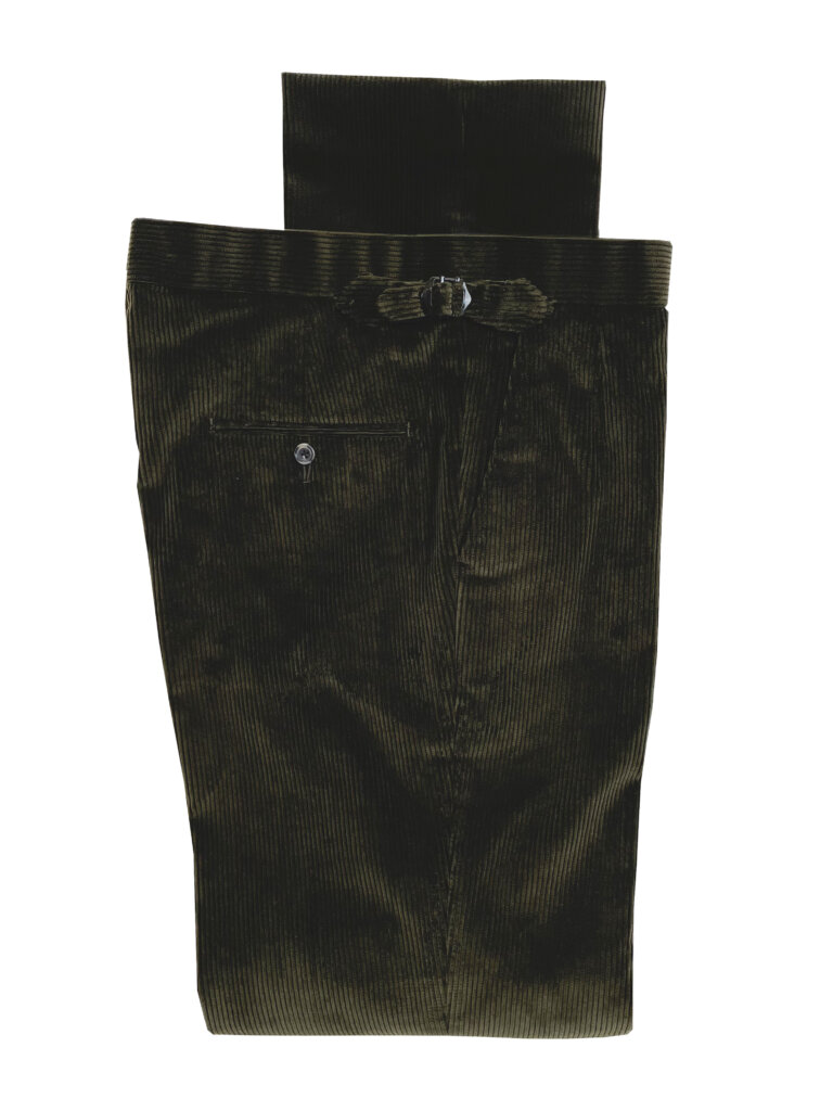 Corduroy Trousers - Olive