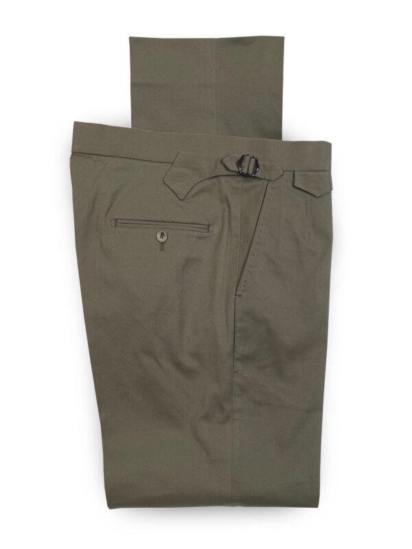 Cotton Mix Trouser – Khaki