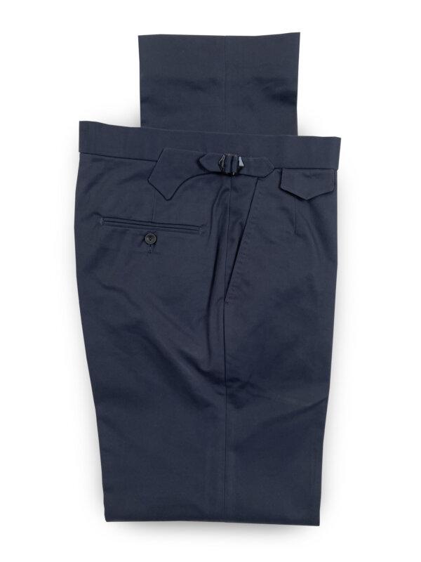 Cotton Trousers – Dark Navy