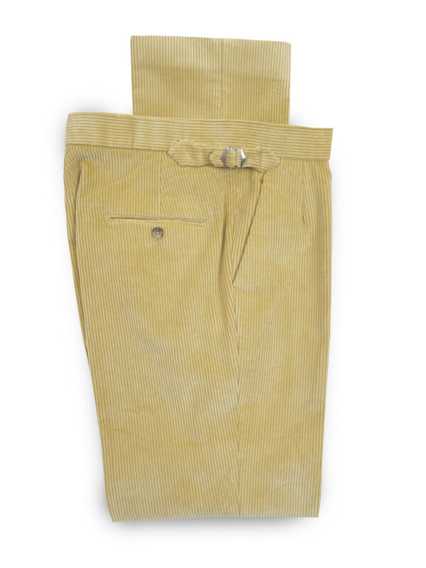 Corduroy Trousers – Cream