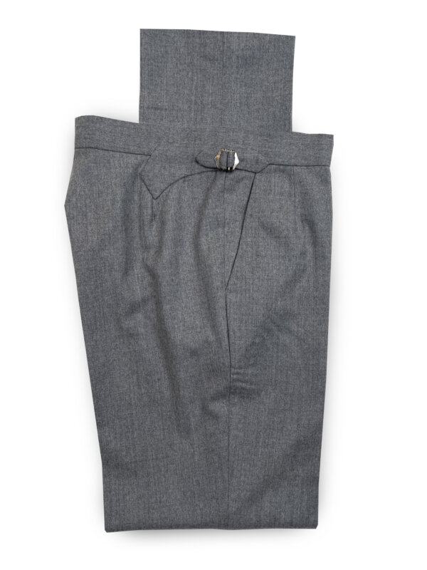 Flannel Trousers – Light Grey
