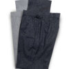 Flannel Trousers – Dark Grey