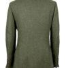 Hunter Green Tweed Jacket Back