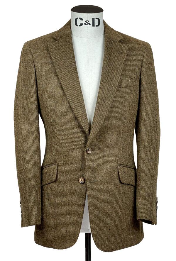 Rust Red Tweed Jacket Front