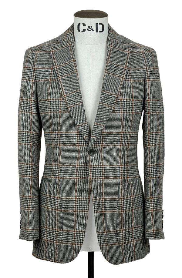 Vintage Check Jacket Front