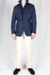 Navy Blue Safari Jacket