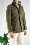 Khaki Green Safari Jacket