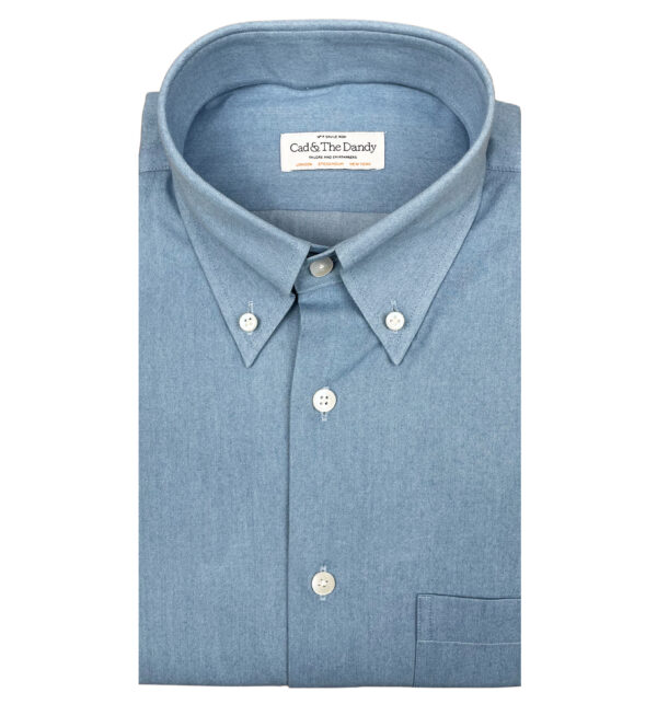 Button Down Journey Denim Shirt