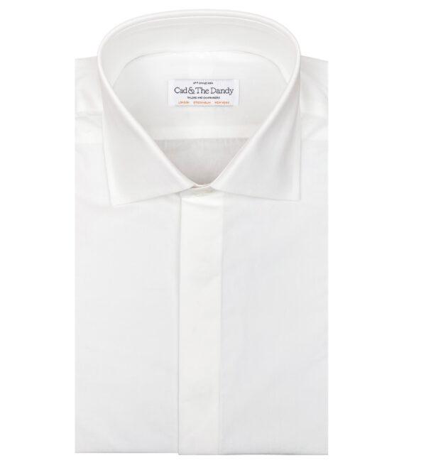 Ivory Poplin Dress Shirt
