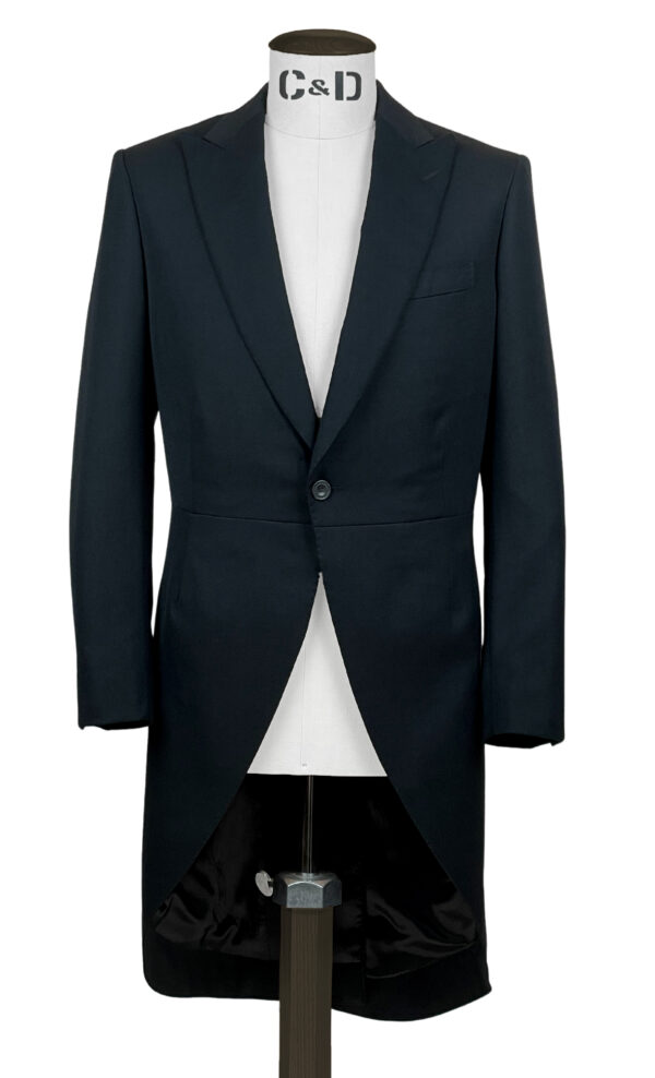 Black Barathea Morning Coat