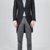 Double Breasted Ash Grey Waistcoat