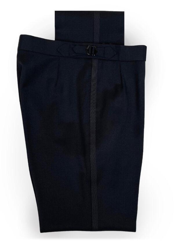 Black Barathea Trousers