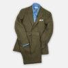 Khaki Linen Suit