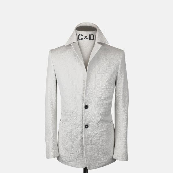 Seersucker Worker Jacket