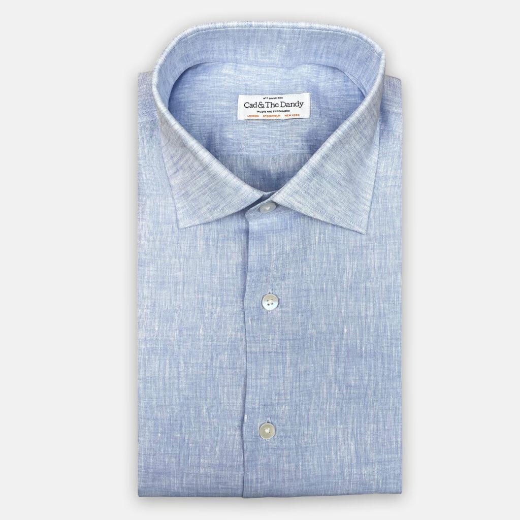 Sky Blue Linen Shirt