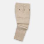 Cream Linen Trouser