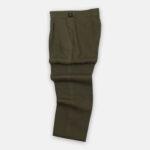 Khaki Linen Trouser