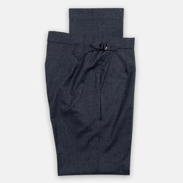 Dark Grey Flannel Trouser