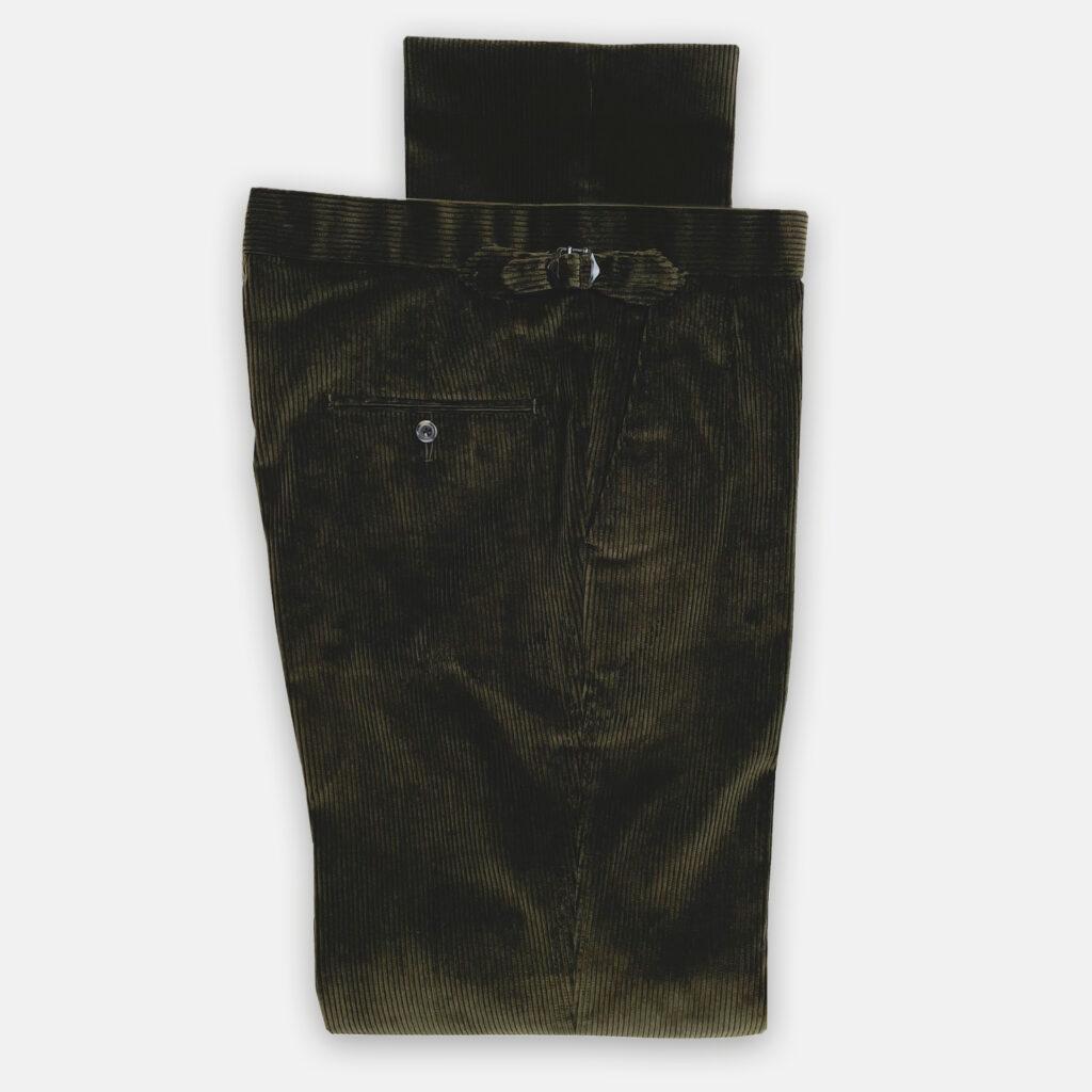 Green Cord Trouser