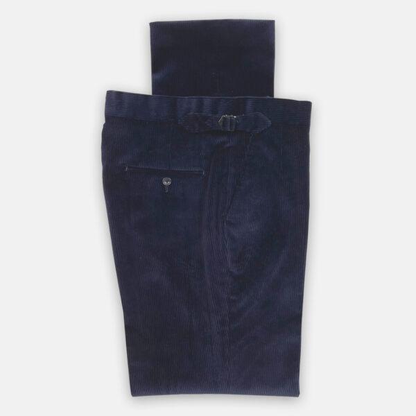 Navy Cord Trouser