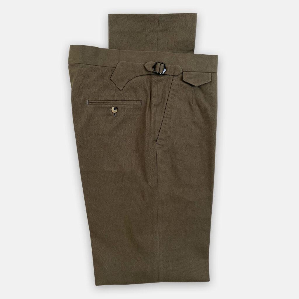 Sage Canvas Trouser