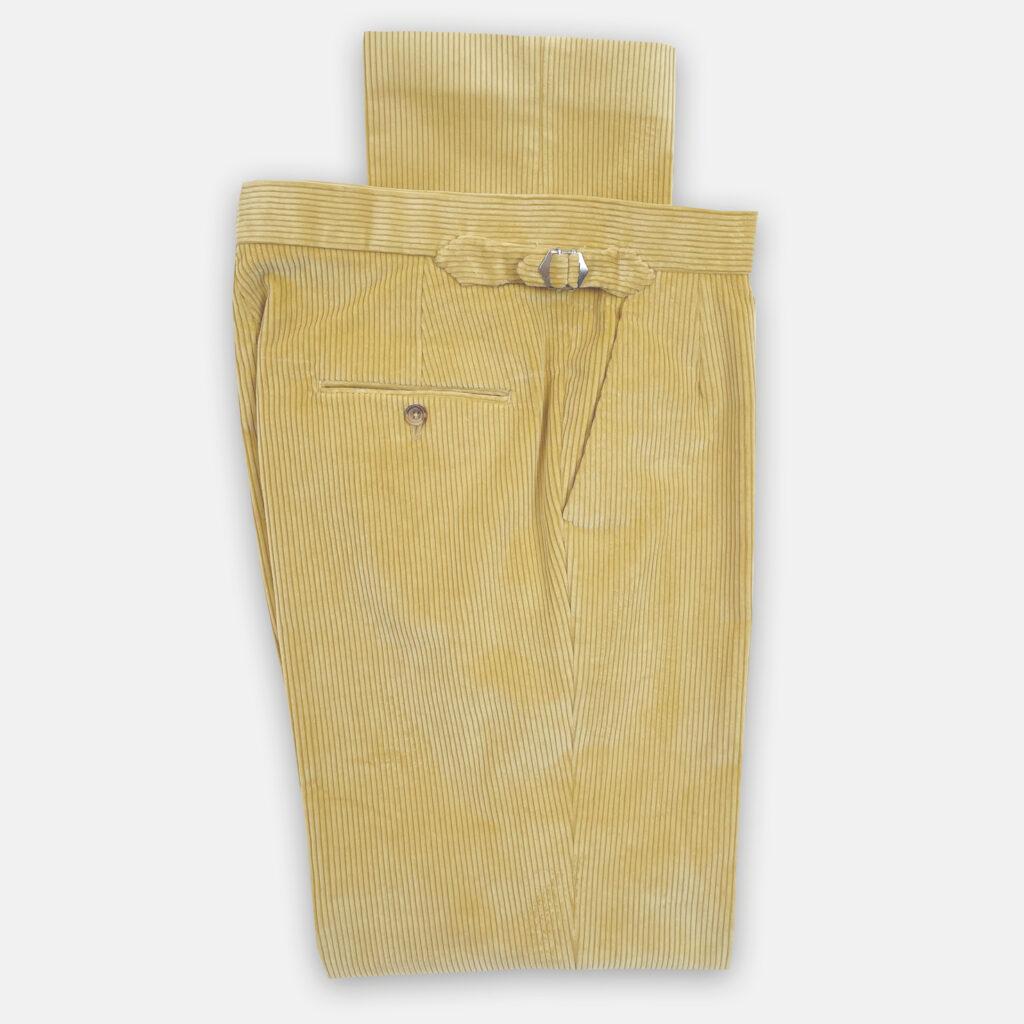 Yellow Cord Trouser