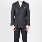 Grey Wool DB Suit