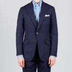 Navy Cool Wool Suit