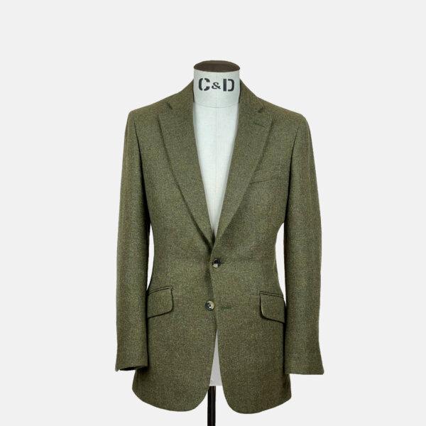 Hunter Green Tweed