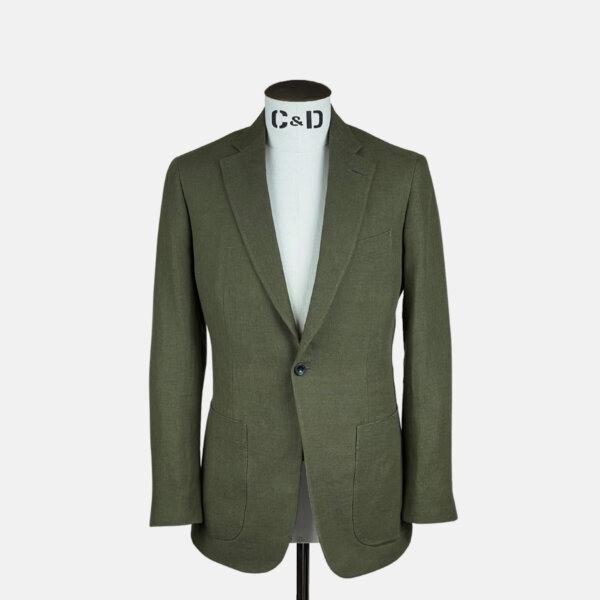 Khaki Linen Jacket