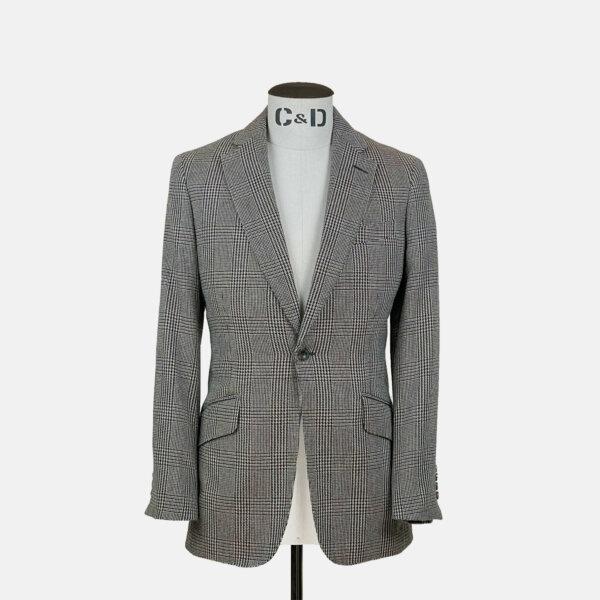 Lambswool Check Jacket