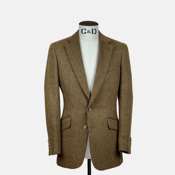 Rust Tweed Jacket
