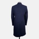 Navy Coat DB Back